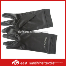 custom logo printed microfiber gloves for handing and cleaning jewelry, watches