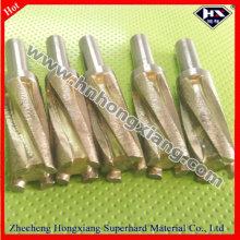 CNC diamante dedo de bits para el vidrio de granito de mármol piedra