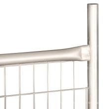 Мобильный защитный оцинкованный временный забор