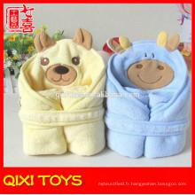 couverture de bébé en peluche en peluche couverture de bébé animal