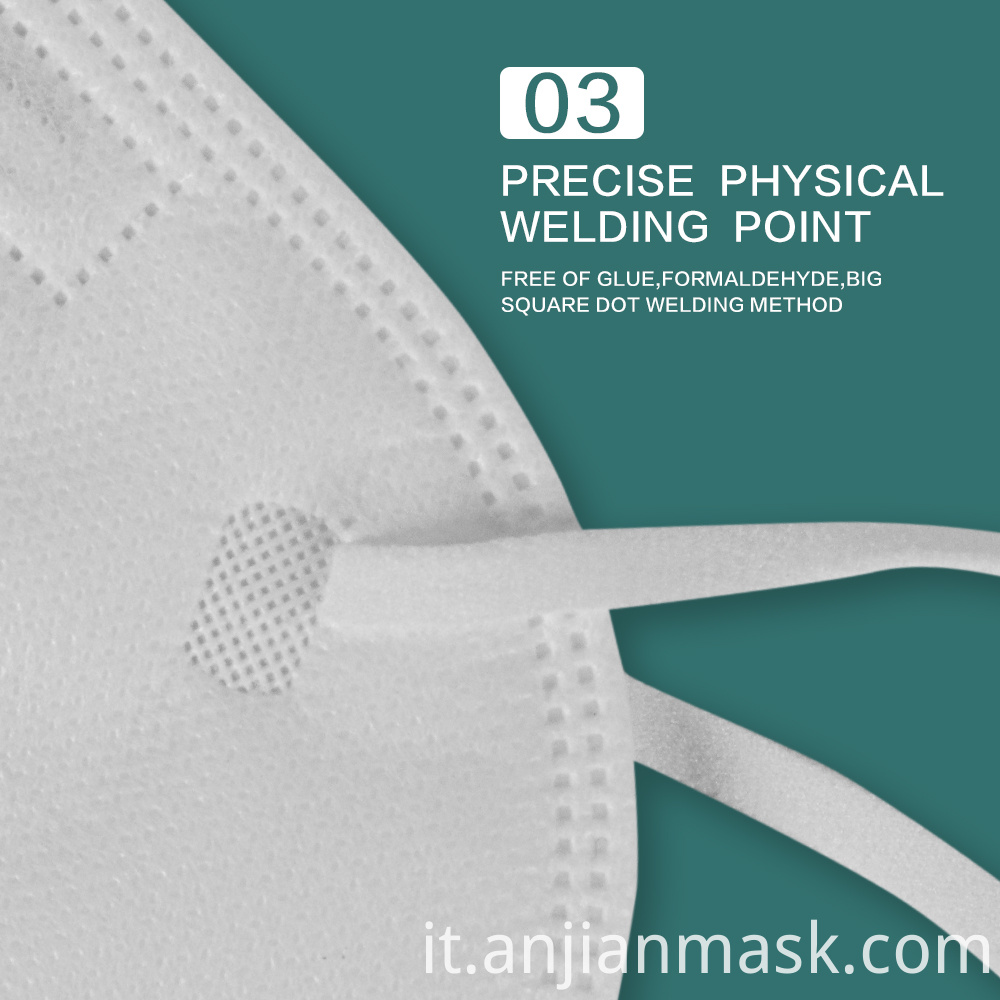 FFP2 KN95 Mask Disposable