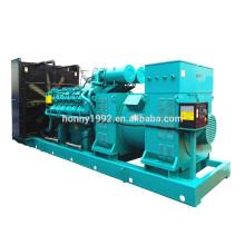 60Hz 13.8kV High Voltage 1500kW Googol Engine Diesel Generator for Sale