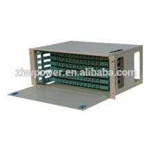 ODF fiber terminal box , 12 ports, sliding drawer type 19 inch 12 port fiber optic patch panel