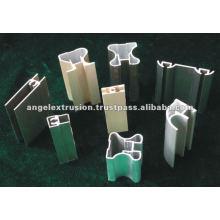 Perfil de aluminio para armario