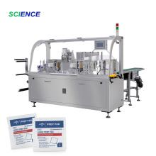 Máquina automática para fabricar lenços umedecidos