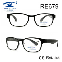 Последние пользовательские пластиковые очки для чтения (RE679)