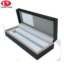 Impression de boîtes à stylos personnalisées avec fenêtre transparente