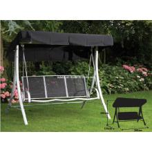 Outdoor Patio Garden Wicker Hanging Beach Swing Glider