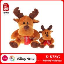 Regalos de promoción felpa bufanda ciervos juguetes