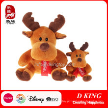 Presentes da promoção Plush Scarf Deer Toys