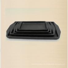 Gusseisen Bakeware Platte Größe