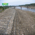 Hexagonal mesh welded gabion boxes