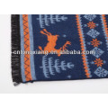 Italian Brushed Best Christmas Gift 100 Cotton Popular Brand Scarf For Kids