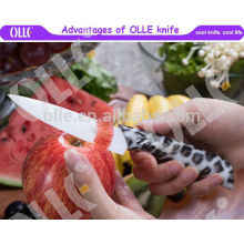 """5"""" white blade with print Handle new Designed Chef Knife 2016"""