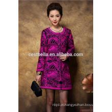 2017 Chic Women Casual Trench Coat Long Outerwear roupas soltas para senhora boa qualidade