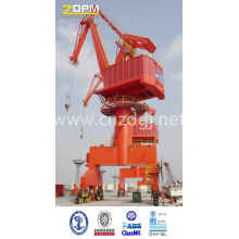 Wharf Level Luffing Portal Crane
