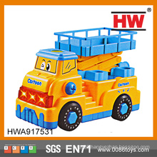 High Quality 29cm dismounting Electric Car musical large plastic toy trucks