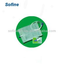 Urin-Drainage-Tasche mit Push-Pull-Ventil, Latex-Urin-Tasche