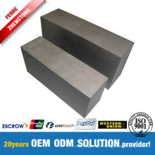 Mais de 99,95% Fabricante de alta classe de bloco de tungstênio