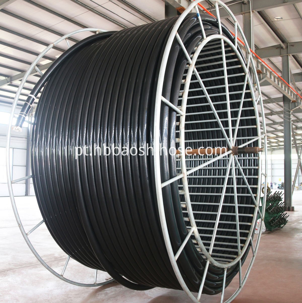 Flexible High Pressure Gas Tube