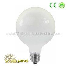 Bombilla de filamento de diodo blanco Milky Opal G125 5W 220V LED