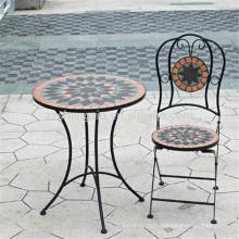 Fabricant de meubles de patio en fer forgé fabricant de table de mosaïque
