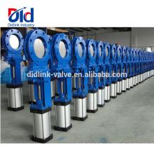80mm Ppr Pvc-Kunststoff-Wasserdichtungsring-elastische sitzende Dia-manuelle hydraulische Messerschieber-Bohrung