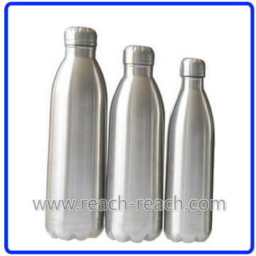 Doppelte Wand Edelstahl Isolierflasche (R-8007)