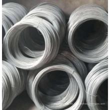 Alambre galvanizado sumergido caliente / alambre electro galvanizado
