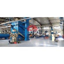 Mezclador de harina de pescado Nuevo diseño de la línea de producción de harina de pescado