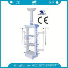 Techo montado tipo sala quirúrgica para dispositivo gas colgante médico