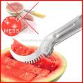 Fatiador de melancia - corta e serve melão fresco rapidamente É o melhor cortador de corer de frutas e tongs tudo em uma ferramenta de cozinha incrível