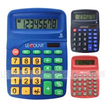 8-stellige Dual-Power-Tischrechner mit verschiedenen optionalen attraktiven Farben (LC239)