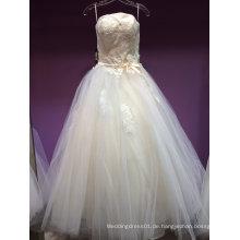 Neue Ankunft ein Linie Hochzeits-Kleid unter 150USD