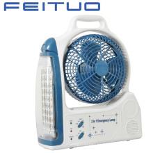 Ventilador, ventilador recargable, ventilador de emergencia, luz de emergencia, 1618-6c