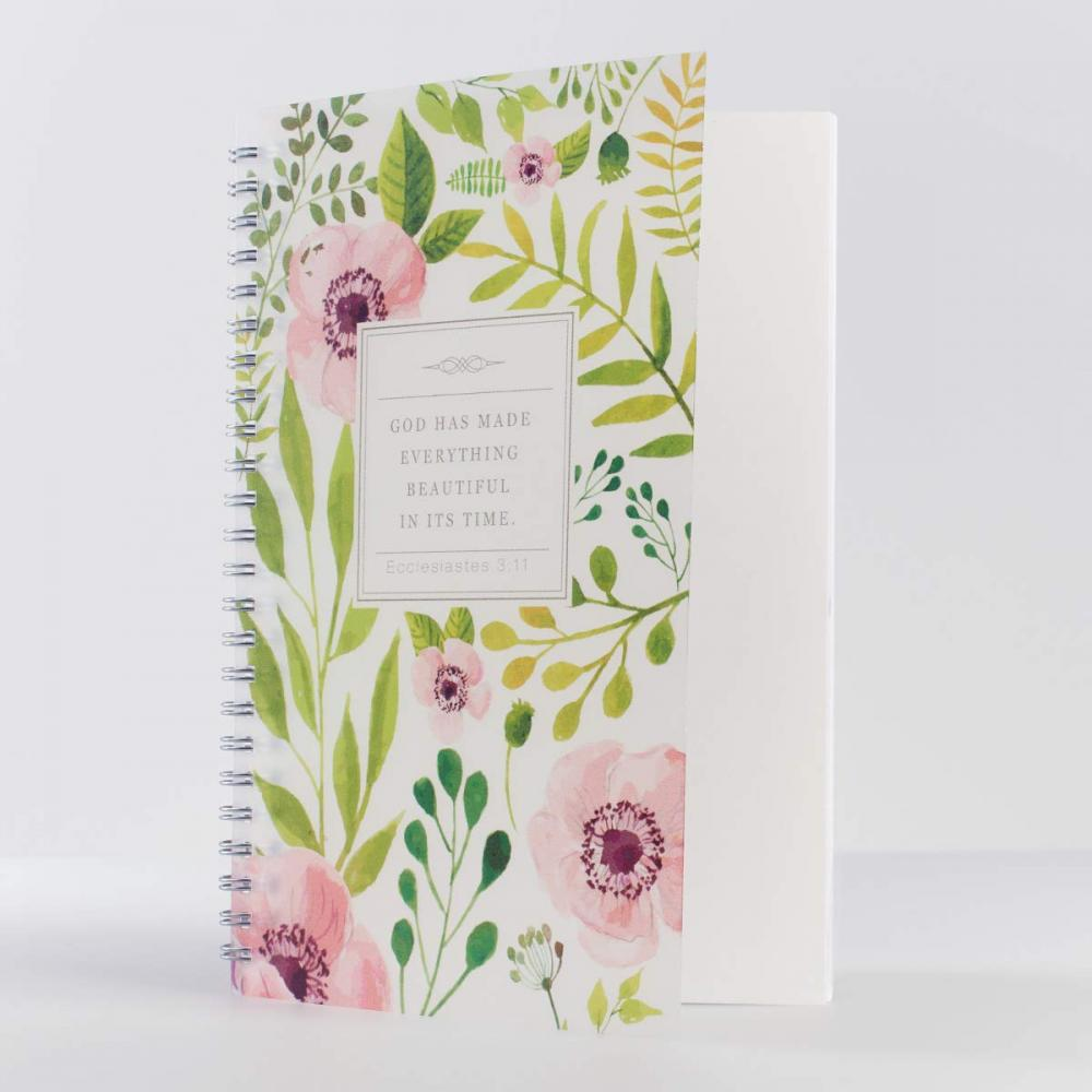 Flower Spiral Notebook 2