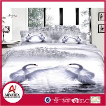 Made in China Neueste Mode-Design Bettwäsche-Set, Microfaser bedruckt Blatt für hohe Qualität