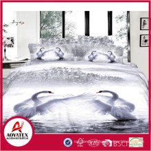 Made in China Mais Recente Design de Moda Conjunto de Cama, Microfibra Impresso Folha Set para Alta Qualidade