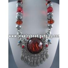 Collar de la joyería tibetana