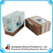 Kundenspezifische dekorative kleine Weihnachtskerzengeschenkboxen für Verkauf