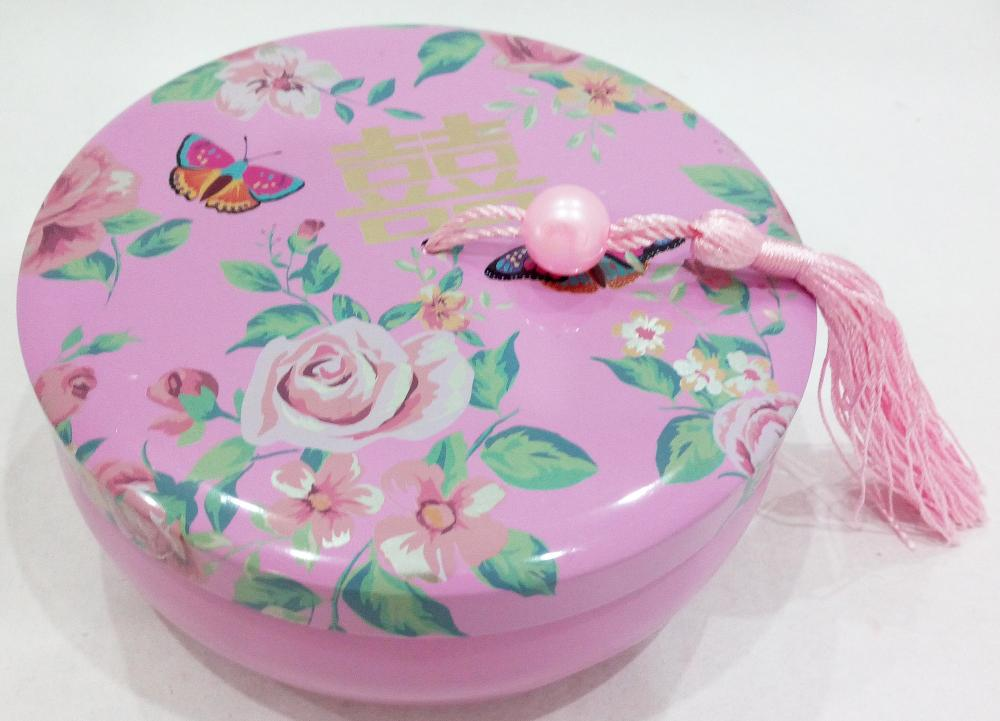Tinplate Wedding Candy Tin