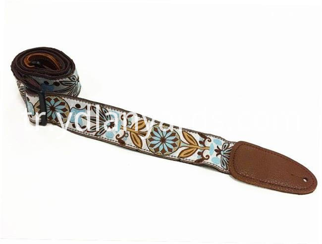 Leather Head Guitar Strap
