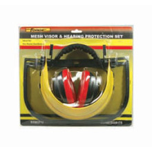 Labor accessoires maille visière & antibruit Protection Set bricoleur