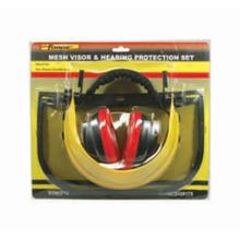 Proteção de conjunto trabalhador manual labor acessórios malha viseira & Muff da orelha