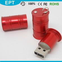 Llavero El barril de aceite puede formar USB Pendrive (EP085)