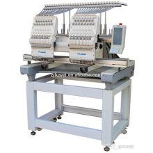 FUWEI bordadora industrial 2 colores computarizados cabeza de la máquina del bordado 15 colores