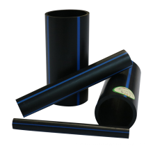 Eco-friendly black plastic hdpe drinking water supply pipe roll