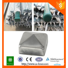 Factory directly used metal fence post/galvanized metal fence posts/removable metal fencing posts