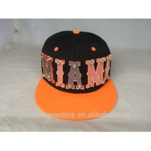 Custom Fashion Design Plastic Acrylic Snapback Caps With Different color