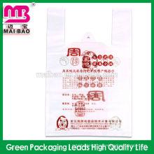 Bolsas de embalaje para tiendas Bolsa de mensajero de plástico transparente impresa personalizada de alta calidad